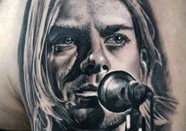 24 Anos sem Kurt Cobain - Veja Incríveis Tattoos desse Incrível Rock Star