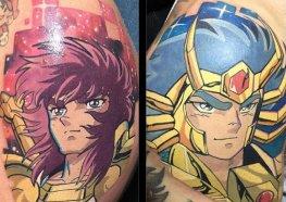 32 Tatuagens dos Cavaleiros do Zodiaco