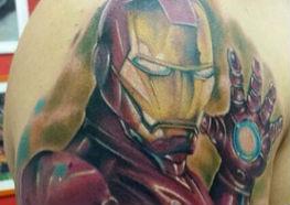 50 Tatuagens do Homem de Ferro em Homenagem a sua Estréia nos Cinemas