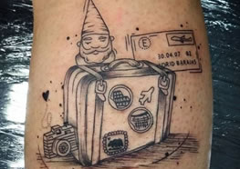 AMA viajar? 37 Tatuagens de viagem para inspirar sua próxima tattoo
