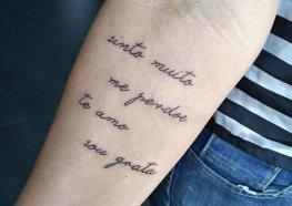 Frases para Tatuagem: Ideias e Sugestões para as melhores frases de tattoos