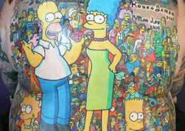 Guinness Book de Tatuagens dos Simpsons