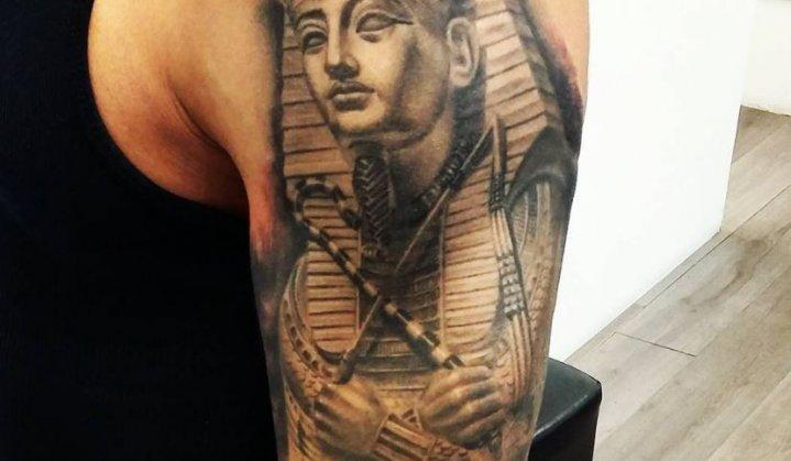Incríveis e Inspiradoras Tatuagens de Tutancâmon