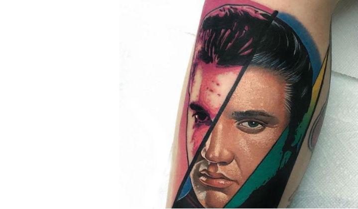 Incríveis Tattoo do Elvis Presley o Rei do Rock