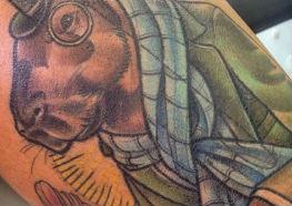 Incríveis Tatuagens de Capivaras