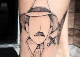 21e9e8e537 Incríveis Tatuagens de Santos Dumont