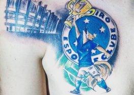 Incríveis Tatuagens do Cruzeiro para se Inspirar