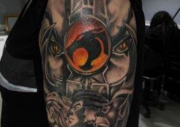 Lindas e Saudosas Tatuagens dos Thundercats