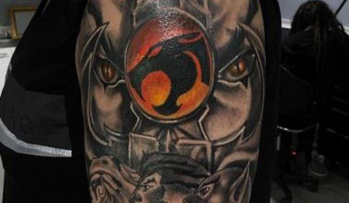 Tatuagem Thundercats: Incríveis tattoos para se inspirar