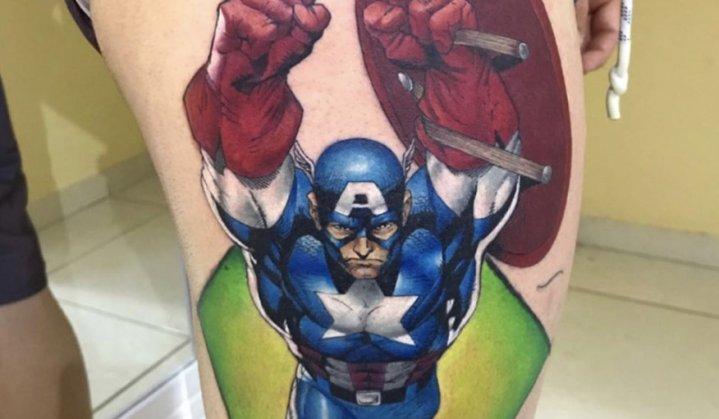 Tatuagem Marvel: Torne-se um Super-Herói confira as Melhores Tatuagens