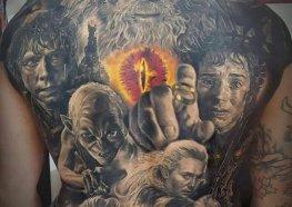Melhores Tattoos de Senhor dos Anéis