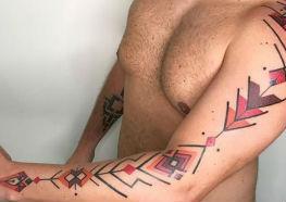 Que tal umas Tattoos Tribais para Comemorar o Dia do Índio