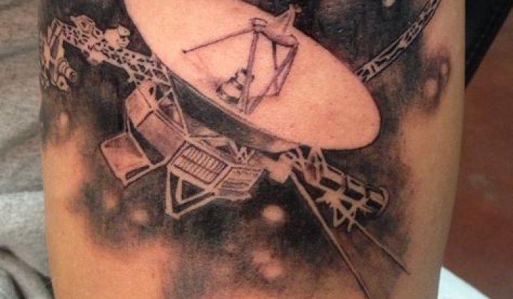 Sensacionais Tatuagens da Sonda Voyager 1