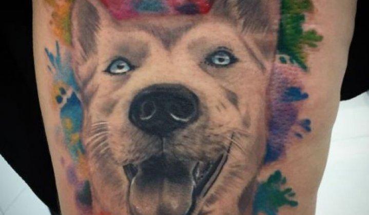 Tatuagem de Cachorros: Significados e Ideias Femininas e Masculinas