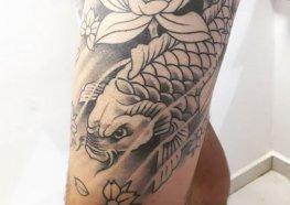 Tatuagem de Carpa: Significado, simbologia e Tatuagens Inspiradoras