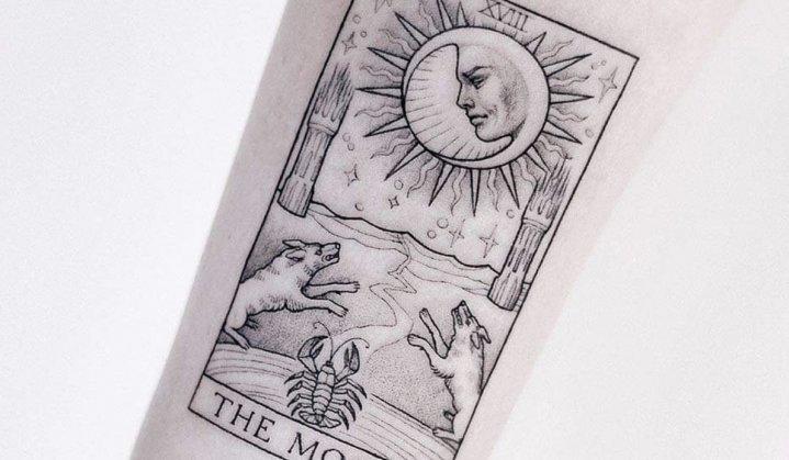 Tatuagem de Cartomante: mistério, história e referências para você