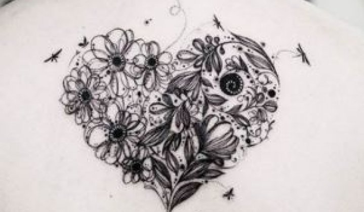 Tatuagem de Coração: Significado, Idéias e Muito Mais...