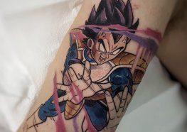 Tatuagem Dragon Ball: Kamé Hamé Ha!