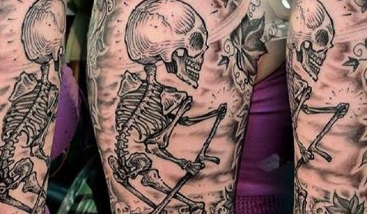 Tatuagem de Esqueleto: Significado, Idéias e 27 incríveis tattoos para você