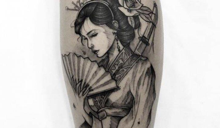 Tatuagem de Gueixa: História, Significado e Muita Tatuagem