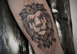 Tatuagem de Leão: Significado, História, Simbologia e Muitas FOTOS