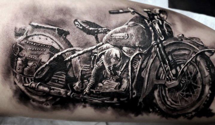 Tatuagem de moto
