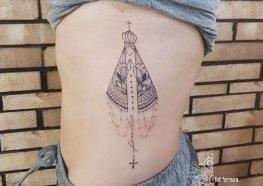 Tatuagem de Nossa Senhora Aparecida Você Precisa Ver