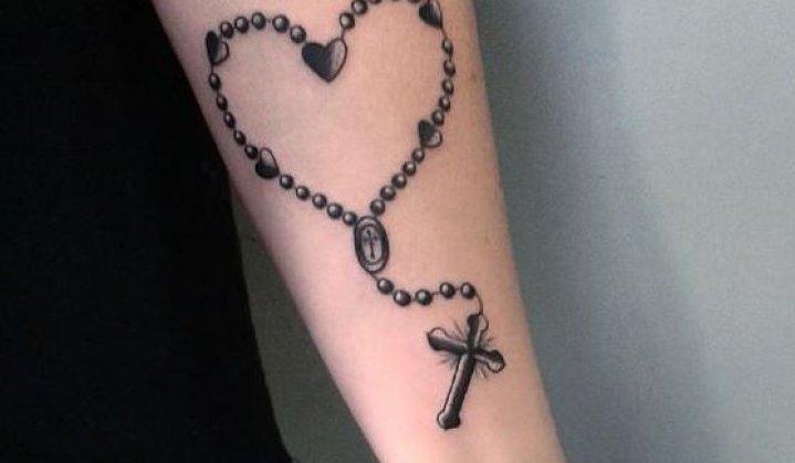 Tatuagem De Terço Significado Fé Devoção E Religiosidade