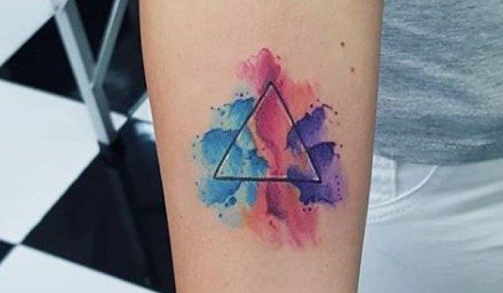 Tatuagem de Triangulo: Incríveis Significados e Idéias