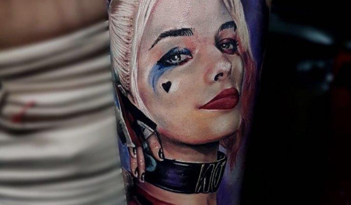 Tatuagem Esquadrão Suicida: Vilões tatuados na pele