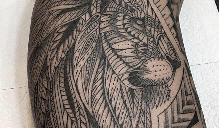 Tatuagem Leão Maori: História, Significado e Muitas Ideias