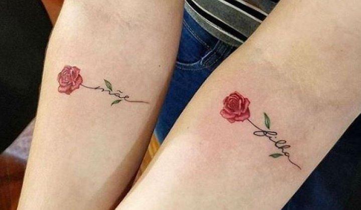 Tatuagem Mãe e Filha: Significado e Ideias Incríveis de Tattoos p/ Fazer