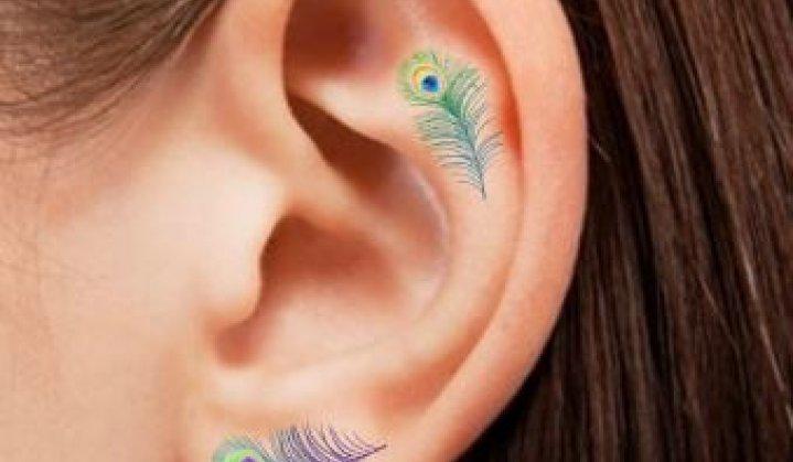 Tatuagem na Orelha: +40 Idéias e Inspirações