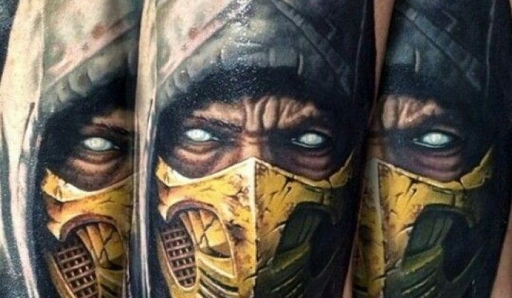 Tatuagens Arrebatadoras do Mortal Kombat