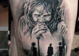 Tatuagens Arrepiantes do Filme O Exorcista