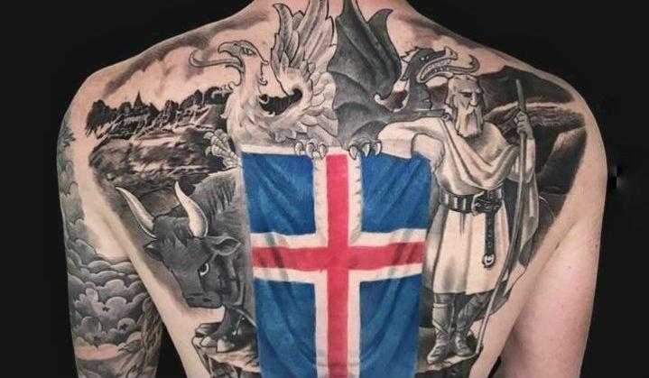 Tatuagens da Copa: Islândia