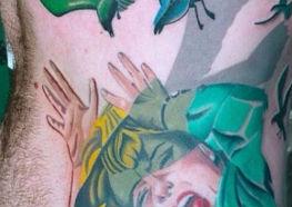 Tatuagens de Alfred Hitchcock o Mestre do Suspense