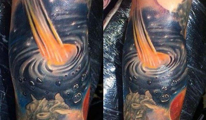 Tatuagens de Buraco Negro