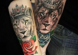 Tatuagens de Casal para vocês se Apaixonarem
