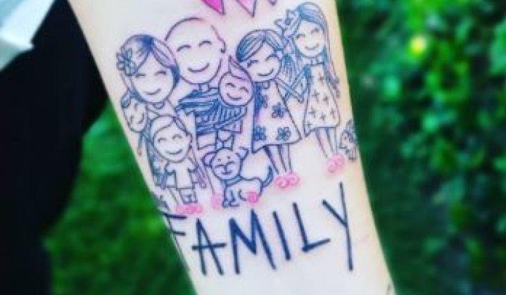 Tatuagens de Família: Inspiradoras Idéias