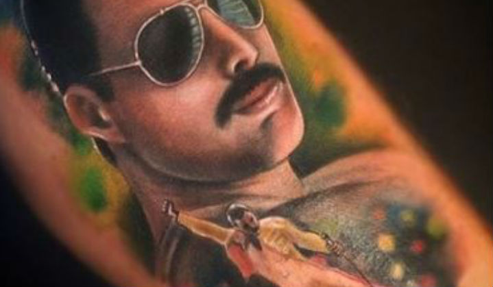 Tatuagens de Freddie Mercury