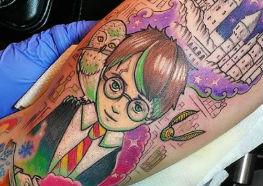 Tatuagens de Harry Potter para Celebrar seu Nascimento