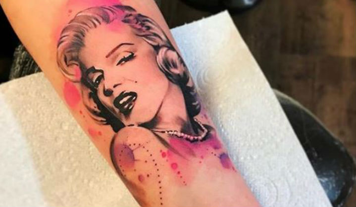 Tatuagens de Marilyn Monroe em Comemoração ao seu Aniversário