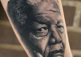 Tatuagens de Nelson Mandela