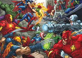 Tatuagens de super-heróis: Marvel e DC você vai pirar!