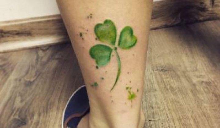 Tatuagens de Trevo de 3 Folhas: Significados e Curiosidades