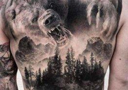 Tatuagens de Urso: Significados, Ideias e Muito Mais