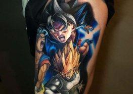 Tatuagens do Dragon Ball