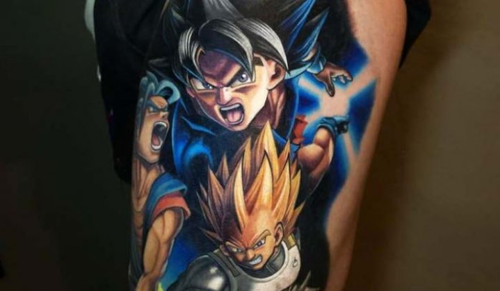Tatuagens do Dragon Ball