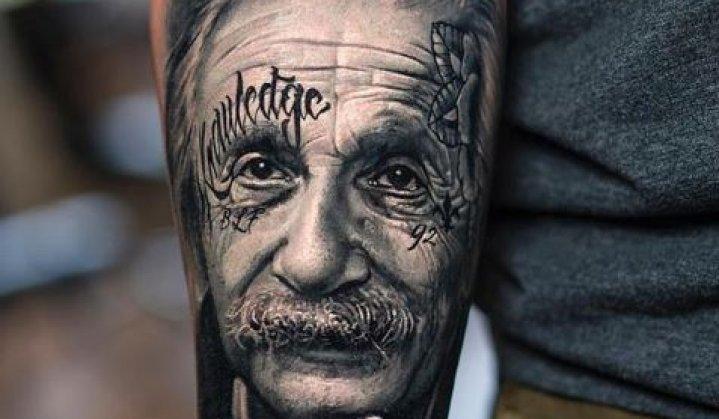 Tatuagens do Einstein: O Maior Gênio da Ciência